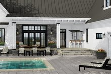 Architectural House Design - Farmhouse Exterior - Outdoor Living Plan #51-1137
