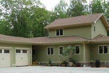 House Design - Craftsman Exterior - Rear Elevation Plan #939-12