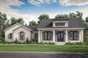 Farmhouse Style House Plan - 3 Beds 2.5 Baths 2044 Sq/Ft Plan #430-208 Exterior - Front Elevation
