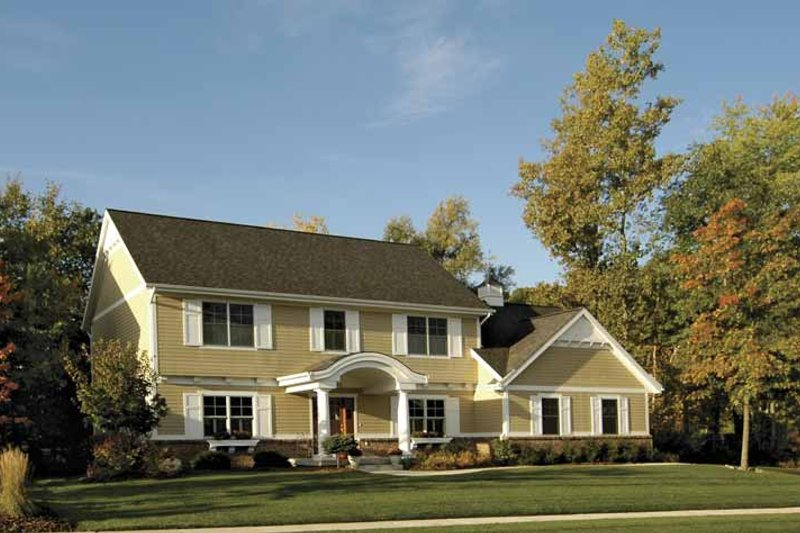 Traditional Exterior - Front Elevation Plan #928-68