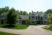 Craftsman Style House Plan - 4 Beds 3 Baths 6145 Sq/Ft Plan #928-104 Exterior - Front Elevation