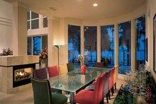 Contemporary Interior - Dining Room Plan #1039-4