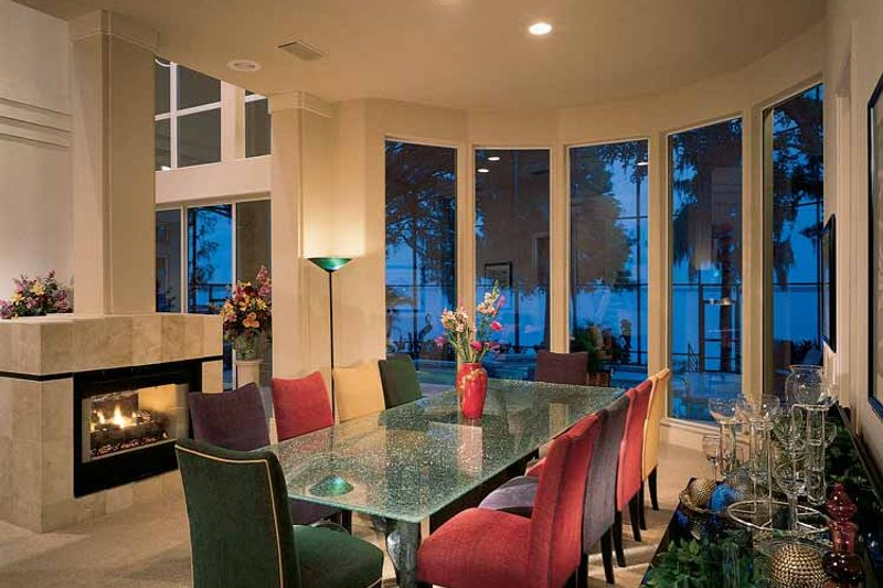 Contemporary Interior - Dining Room Plan #1039-4 - Houseplans.com