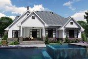 Farmhouse Style House Plan - 4 Beds 4 Baths 2191 Sq/Ft Plan #120-259 Exterior - Rear Elevation