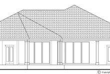 Architectural House Design - Mediterranean Exterior - Rear Elevation Plan #930-446