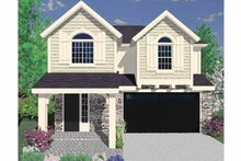 Country Exterior - Front Elevation Plan #509-238