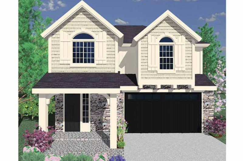 Country Exterior - Front Elevation Plan #509-238 - Houseplans.com