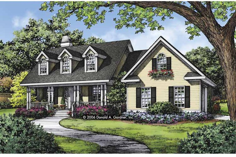 Country Exterior - Front Elevation Plan #929-815 - Houseplans.com