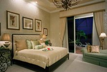 Mediterranean Interior - Master Bedroom Plan #930-324