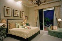 Mediterranean Interior - Master Bedroom Plan #930-324