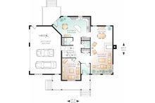Country Floor Plan - Main Floor Plan Plan #23-2349