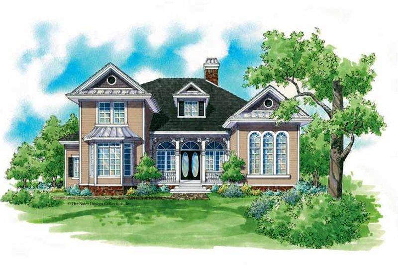 House Plan Design - Victorian Exterior - Front Elevation Plan #930-209