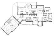 European Style House Plan - 4 Beds 3.5 Baths 5977 Sq/Ft Plan #928-8 Floor Plan - Main Floor Plan