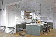 House Plan Design - Craftsman Interior - Kitchen Plan #1079-1