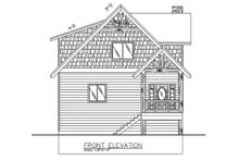 Architectural House Design - Contemporary Exterior - Front Elevation Plan #117-870