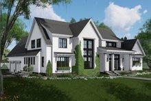 Farmhouse Exterior - Front Elevation Plan #51-1136