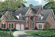 House Plan Design - Traditional Exterior - Front Elevation Plan #453-120