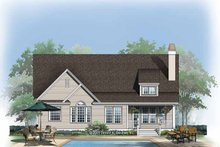 Country Exterior - Rear Elevation Plan #929-765