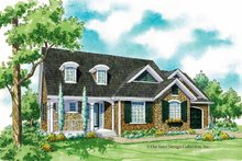 House Plan Design - Country Exterior - Front Elevation Plan #930-248