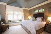 European Style House Plan - 4 Beds 3.5 Baths 4347 Sq/Ft Plan #928-178 Interior - Master Bedroom