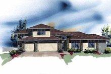 Craftsman Exterior - Front Elevation Plan #509-405