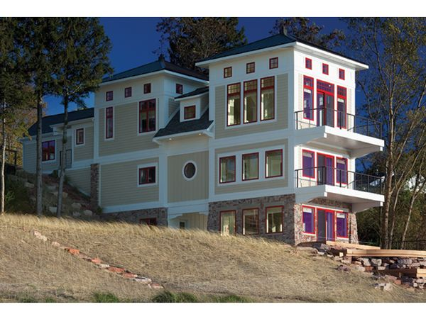 Architectural House Design - Contemporary Floor Plan - Other Floor Plan #928-249