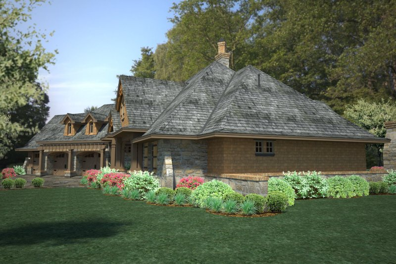 Craftsman Exterior - Other Elevation Plan #120-191 - Houseplans.com