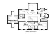 Classical Style House Plan - 3 Beds 3.5 Baths 3281 Sq/Ft Plan #928-240 Floor Plan - Upper Floor Plan