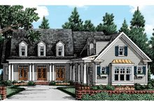 Country Exterior - Front Elevation Plan #927-402