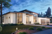 Contemporary Style House Plan - 5 Beds 5 Baths 6080 Sq/Ft Plan #1066-112