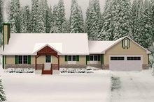 House Plan Design - Ranch Exterior - Front Elevation Plan #22-511