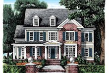 House Plan Design - Classical Exterior - Front Elevation Plan #927-882