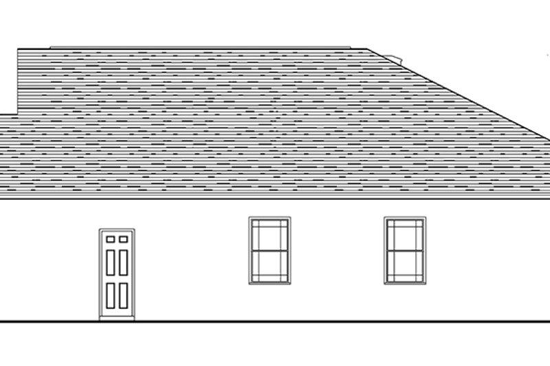 Craftsman Exterior - Other Elevation Plan #1058-72 - Houseplans.com