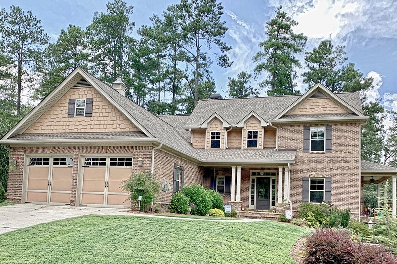 Architectural House Design - Craftsman Exterior - Front Elevation Plan #437-119