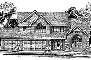 Traditional Exterior - Front Elevation Plan #50-214