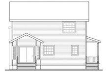 Traditional Exterior - Rear Elevation Plan #124-852