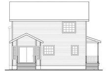 Dream House Plan - Traditional Exterior - Rear Elevation Plan #124-852