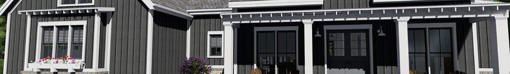 Farmhouse Bungalow Home Plans, Floor Plans & Designs