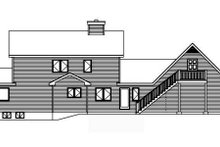 Farmhouse Exterior - Rear Elevation Plan #22-507