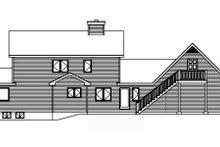 Architectural House Design - Farmhouse Exterior - Rear Elevation Plan #22-507