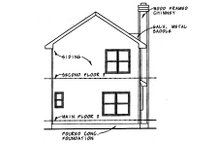Dream House Plan - Traditional Exterior - Rear Elevation Plan #20-432