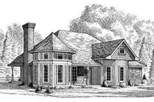 House Design - Victorian Exterior - Front Elevation Plan #410-133