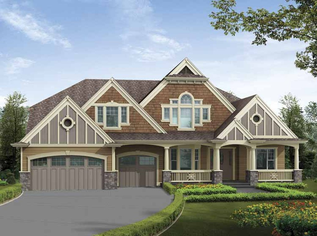 Craftsman style house plan 6 beds 5 baths 6555 sq ft for Www eplans