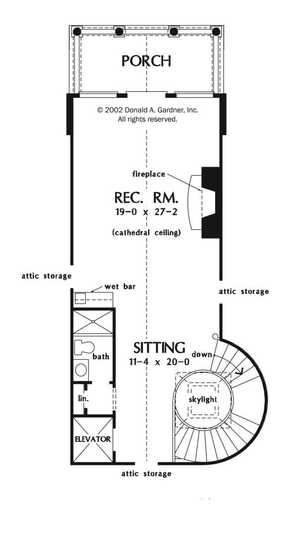 Mediterranean Floor Plan - Other Floor Plan Plan #929-900