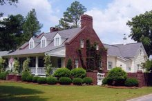 Architectural House Design - Southern Exterior - Front Elevation Plan #137-140