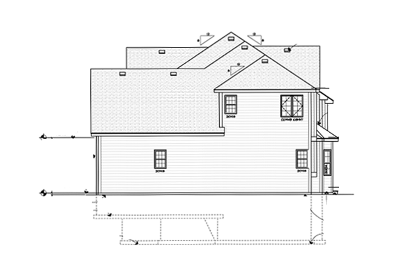 Country Exterior - Other Elevation Plan #1001-106 - Houseplans.com
