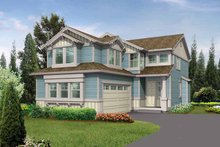Dream House Plan - Craftsman Exterior - Front Elevation Plan #132-264