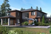 Traditional Style House Plan - 5 Beds 4.5 Baths 4166 Sq/Ft Plan #1066-93 Exterior - Other Elevation