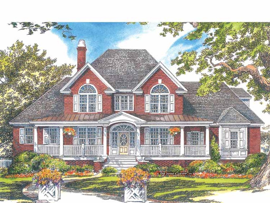 Country style house plan 4 beds 3 5 baths 3293 sq ft for Www eplans com