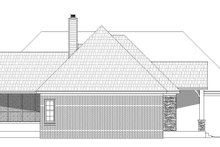 Country Exterior - Other Elevation Plan #932-125